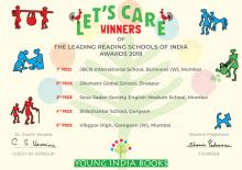 LET'S CARE! Leading Reading Schools Of India Awards 2019